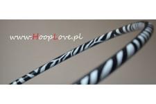 Ciężkie Hula Hop - zdobienie Zebra