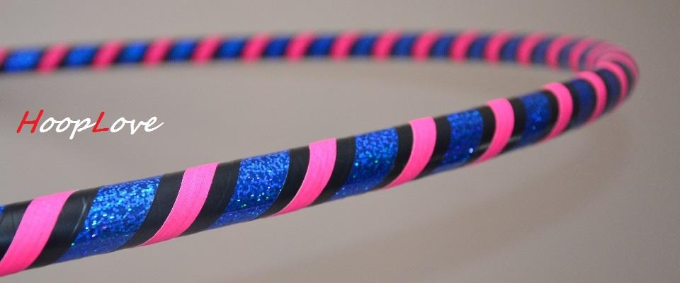 hula hoop brokatowe